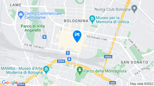 Hotel Il Guercino Map