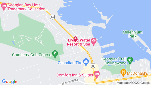 Living Stone Golf Resort Map