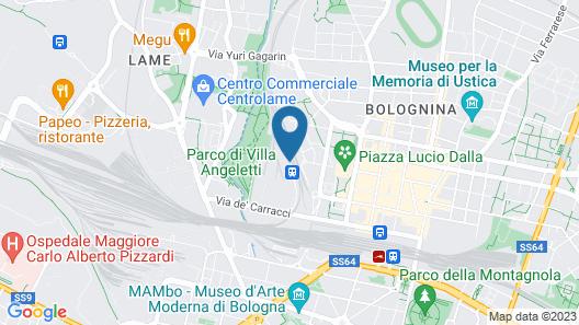 We_Bologna - Hostel Map
