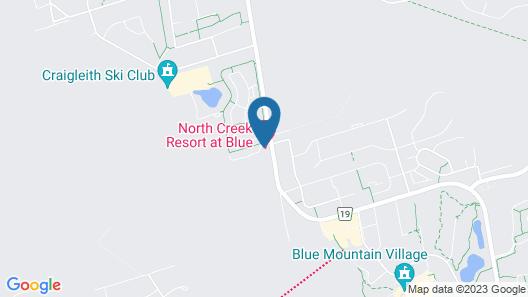 North Creek Resort Condos Map