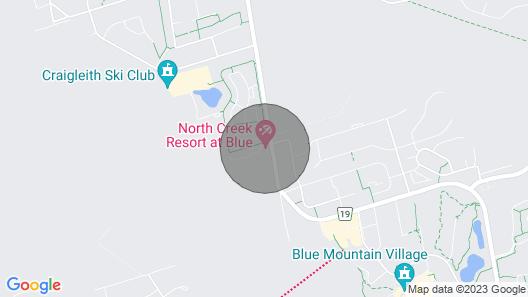 Blue Mountain Getaway Map