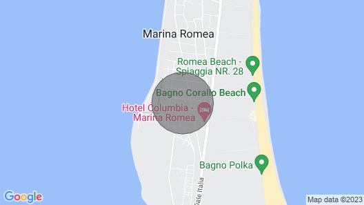 4 Bedroom Accommodation in Marina Romea -ra- Map