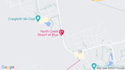 Blue Mountain Springs Resort Map