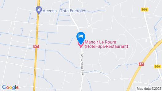 Manoir le Roure Map