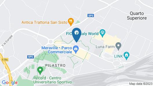 Holiday Inn Bologna - Fiera Map