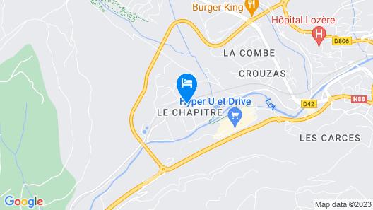 Village de Gites le Colombier Map