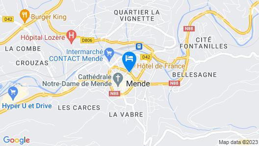 Hôtel de France Map
