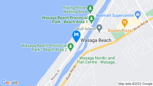 Beachfront at Beach1 Motel Map