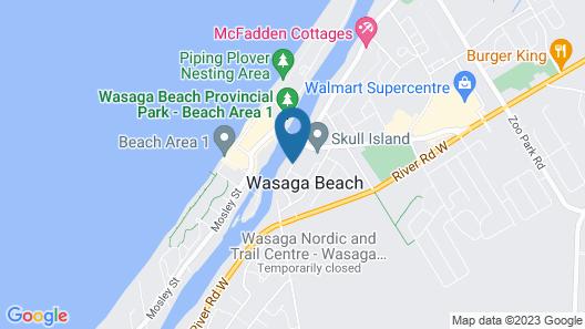 Wasaga River Resort Inc Map