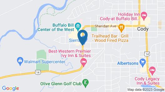 Sunrise Motor Inn Map