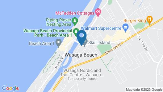 SAGA RESORT Map
