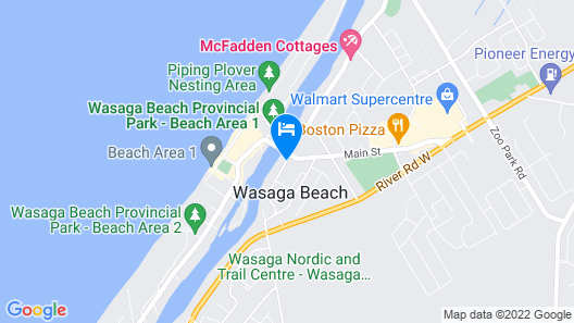 Edgewater Resorts - Edgewater Cottages Map