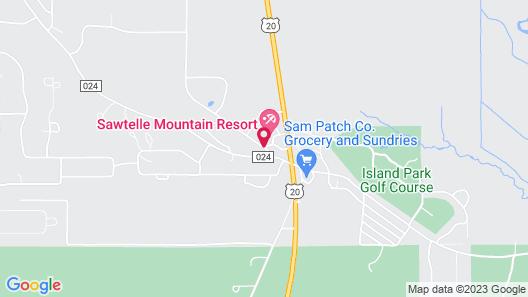 Sawtelle Mountain Resort Map