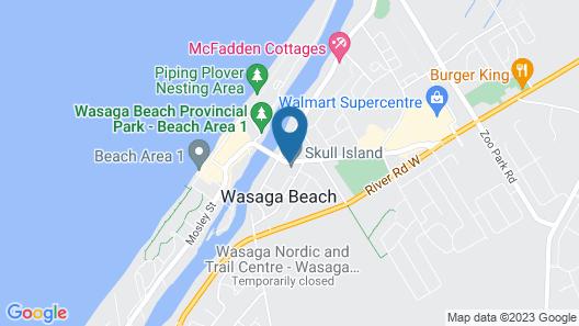 Edgewater Resorts - Edgewater Inn Map