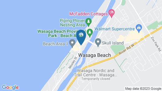 Villa Nova Motel Resort Map