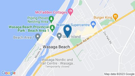 Albatross Motel Map