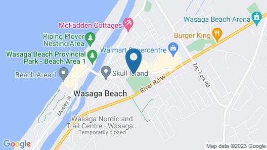 J&J Motel Map