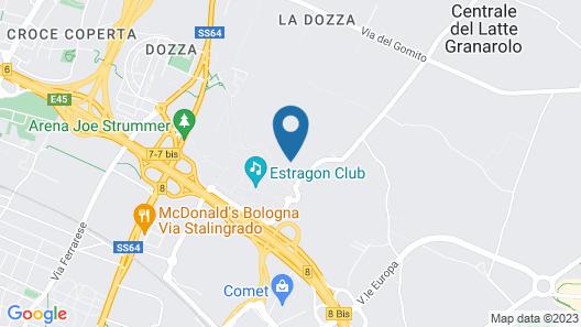 Centro Turistico Città di Bologna Map