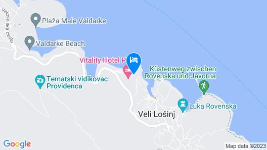 Vitality Hotel Punta Map