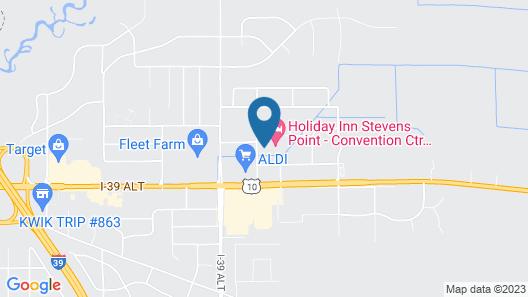 Holiday Inn Stevens Point - Convention Ctr, an IHG Hotel Map