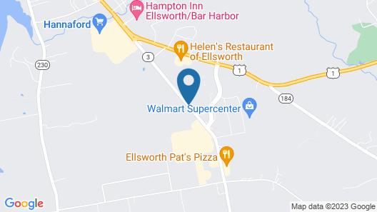 Colonial Inn Ellsworth Map