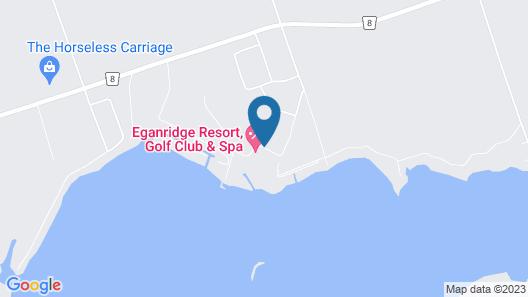 Eganridge Resort, Golf Club & Spa Map