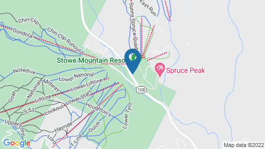 The Lodge at Spruce Peak, a Destination by Hyatt Residence Map