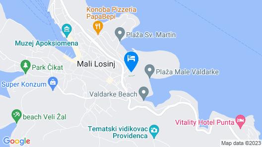 Popi - Apartment Popi 1 Map