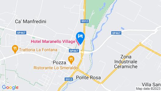 Hotel Maranello Village Map