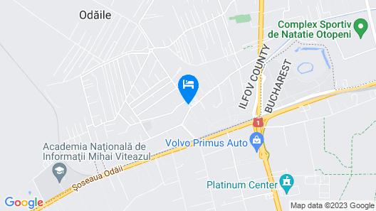 Apartment Stylish near Otopeni Airport Map