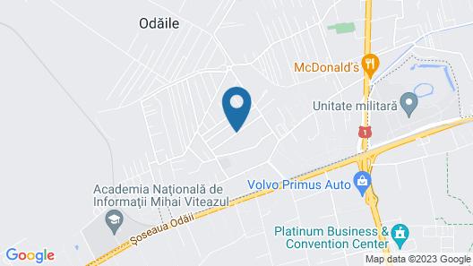 Vila Toparceanu Map