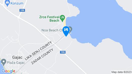 Noa Glamping Resort Map