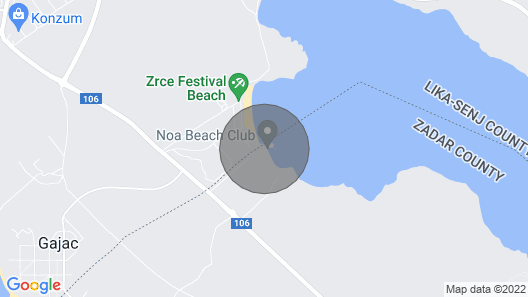 Zr?e Beach Party Villa 4persons Map