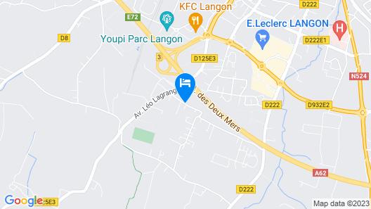 Logis Hôtel Aliénor Map