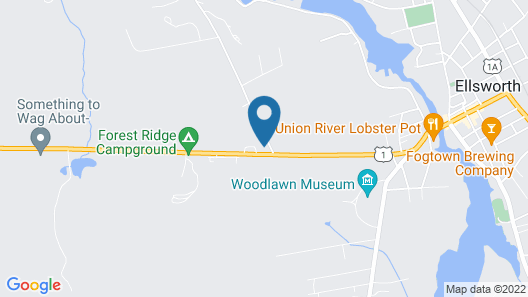 The Homestead Motel Map