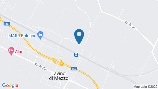 Hotel Gran Parco Map