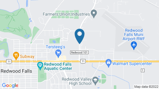 Asteria Inn and Suites Map