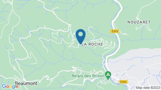 La Petite Cour Verte Map