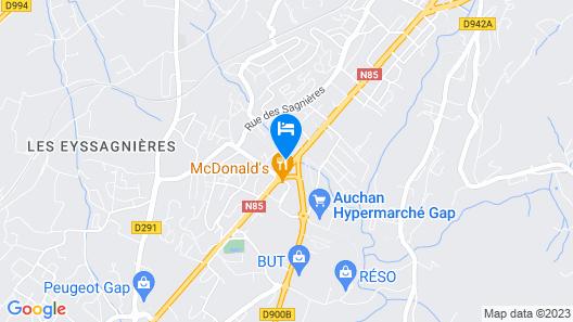 Best Western Hotel Gap Map