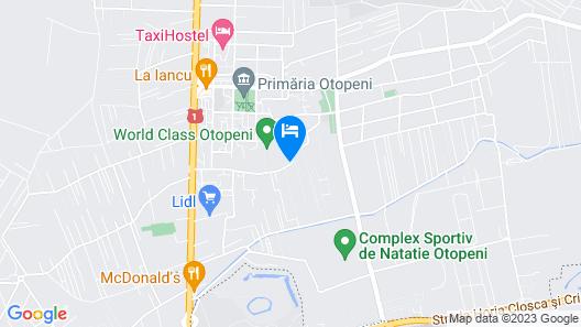 Garden Apartment close to Airport Map