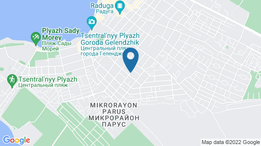 Guesthouse on Sevastopolskoy Map