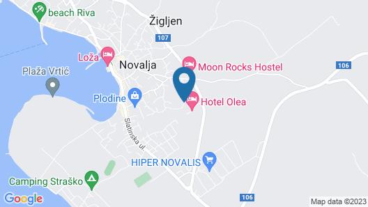 Hotel Olea Map