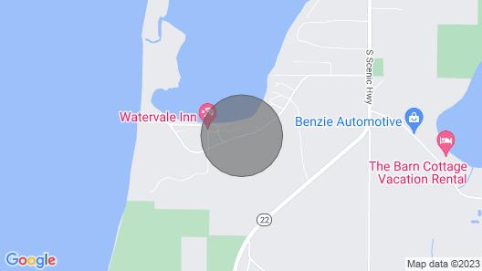 Lake View, Loft Cottage, Resort Access to Lower Herring Lake & Lake Michigan Map