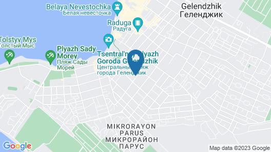 Blagodat Hotel Map