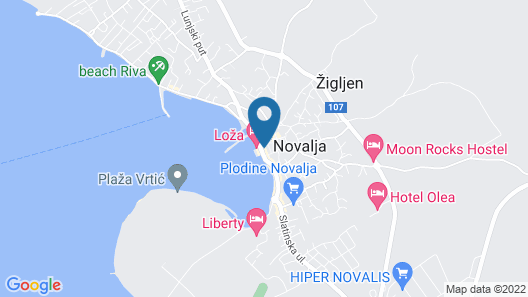 Villa Sara Map