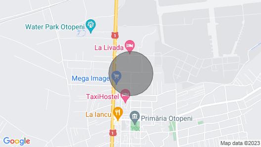 Near airport Henry Coanda Map