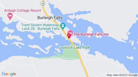 The Burleigh Falls Inn & Suites Map