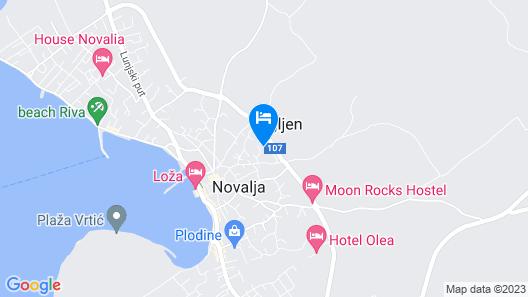 Pool Villas Aldura Map