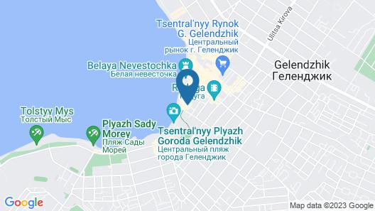 Gostevoy dom South Map