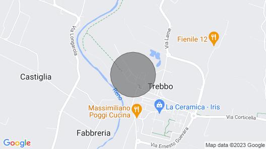 Residence il Borghetto sul Reno Map